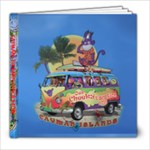 Cayman Family Vacation - 8x8 Photo Book (39 pages)