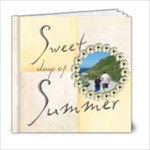 Sweet Days of Summer 6 x 6 20 page book - 6x6 Photo Book (20 pages)
