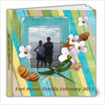 Florida 2011 February - 8x8 Photo Book (20 pages)