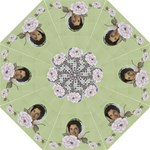 Olive rose folding umbrella