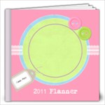 Going Pastels 2011 Monthly Planner - 12x12 Photo Book (30 pages)