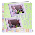 Caden & Claire 3-4 months old - 8x8 Photo Book (39 pages)