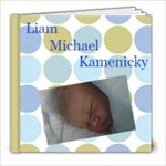 Liam Michael - 8x8 Photo Book (20 pages)
