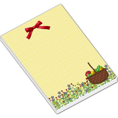 Wicked Apple Large Memo Pad 1 By Lisa Minor   Large Memo Pads   77tu829kw7cx   Www Artscow Com