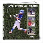 2010 Brett LAYB Allstars - 8x8 Photo Book (39 pages)