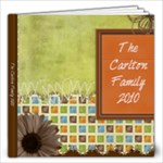 The Carlton Family 2010 - 12x12 Photo Book (20 pages)