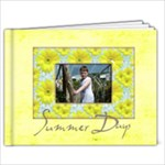 Summer Days 9 x 7 39 page book - 9x7 Photo Book (39 pages)