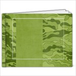 9x7 Camouflage Album - 9x7 Photo Book (20 pages)