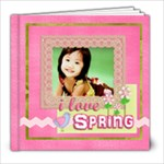 8x8 20 pgs spring - 8x8 Photo Book (20 pages)