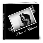 clinton wedding - 8x8 Photo Book (39 pages)