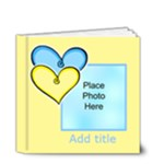 Hearts and lollipop Brag Book general purpose 4x4 20 pages - 4x4 Deluxe Photo Book (20 pages)
