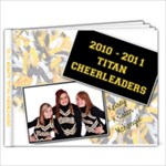 kRISTENS CHEER BOOK - 9x7 Photo Book (20 pages)