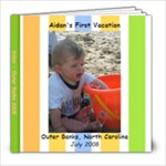 Aidan s 1st vaca - 8x8 Photo Book (20 pages)