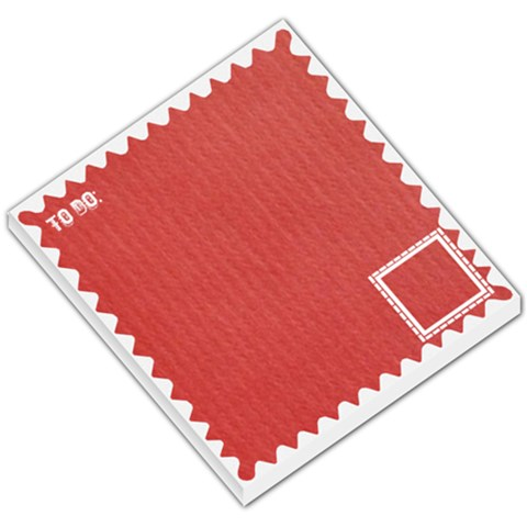 Red To Do Memopad By Daniela   Small Memo Pads   L8stoqx118sd   Www Artscow Com
