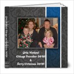 Chicago Dec 2010 - 8x8 Photo Book (20 pages)
