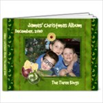 James  5x7 Christmas Album - 7x5 Photo Book (20 pages)