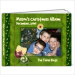 Mason s 5x7 Christmas Album - 7x5 Photo Book (20 pages)