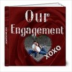 Our Engagement 8x8 Photo Book - 8x8 Photo Book (20 pages)