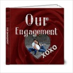Our Engagement 6x6 Photo Book - 6x6 Photo Book (20 pages)
