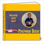 pinewood derby carter - 8x8 Photo Book (20 pages)