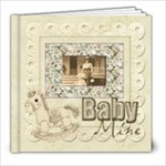 Old Fashioned Baby Mine 20 page 8 x 8 Album Boy or Girl - 8x8 Photo Book (20 pages)