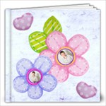 Hearts & Flowers 12 x 12 20 page all occasion album - 12x12 Photo Book (20 pages)