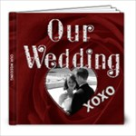 Our Wedding 8x8 30 Page Photo Book - 8x8 Photo Book (30 pages)