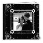 Black and White Elegant 20 Pg 8x8 Photo Book - 8x8 Photo Book (20 pages)