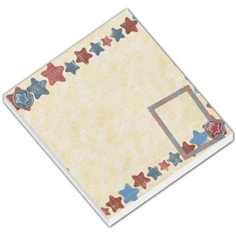 All Stars Memo By Shelly   Small Memo Pads   V9k6h4pdz31f   Www Artscow Com