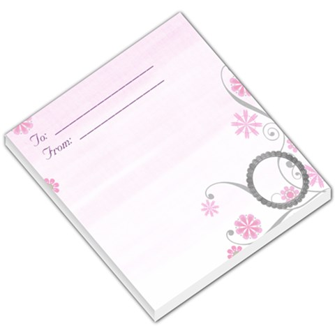 Joy Memo By Shelly   Small Memo Pads   X9h4j24oqzg4   Www Artscow Com
