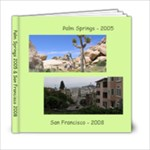 Palm Springs & San Fran - 6x6 Photo Book (20 pages)