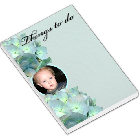 Things To Do Large Memo Pad By Deborah   Large Memo Pads   Grarn3pyrfk0   Www Artscow Com