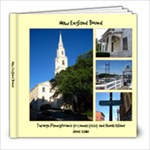 New England Bound - 8x8 Photo Book (39 pages)