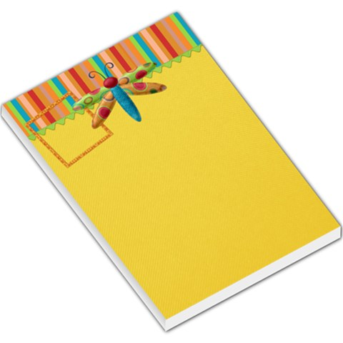 Buttercup Memo Pad 2 By Lisa Minor   Large Memo Pads   Udq8stuxxxea   Www Artscow Com