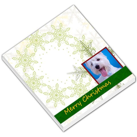 Merry Christmas By Joely   Small Memo Pads   4fs8awd7hwn1   Www Artscow Com