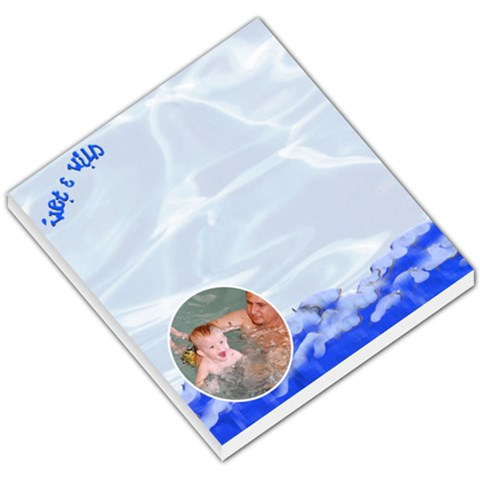 Wet And Wild Notepad By Danielle Christiansen   Small Memo Pads   3tr16ty9c9ou   Www Artscow Com