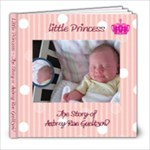 Aubrey s Story Book - 8x8 Photo Book (20 pages)