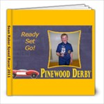 pinewood derby sean - 8x8 Photo Book (20 pages)