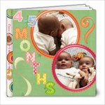 Claire & Caden 4-5 Months LAST ONE - 8x8 Photo Book (20 pages)
