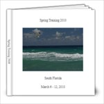 Spring Training 2010 a - 8x8 Photo Book (20 pages)