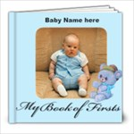 Boy Book of First s 8x8, 30 pages - 8x8 Photo Book (30 pages)