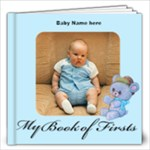 Boy Book of First s 12x12, 30 pages - 12x12 Photo Book (30 pages)