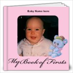 Girl Book of First s 12x12, 30 pages - 12x12 Photo Book (30 pages)