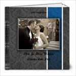 Wedding 10.18.2008 - 8x8 Photo Book (20 pages)