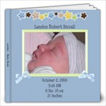 Landon 1st year - 12x12 Photo Book (40 pages)