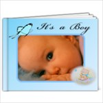 Baby boy Brag book 7x5(20) - 7x5 Photo Book (20 pages)