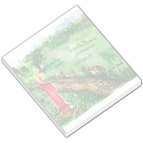 Path By Jennifer Dickson   Small Memo Pads   0if5uxm63thr   Www Artscow Com