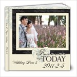 0205AM_wedding - 8x8 Photo Book (20 pages)