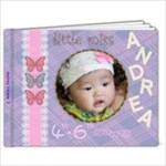 Andrea 4th - 6th month - 9x7 Photo Book (20 pages)