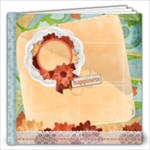 Floral Symphony 12x12 Album, template - 12x12 Photo Book (20 pages)